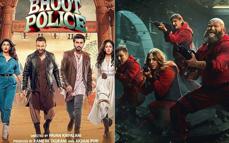 Bhoot Police On Disney Plus Hotstar To Money Heist Season 5 On Netflix, Check Out What's Coming On Your Plate Along With Popcorn This September!