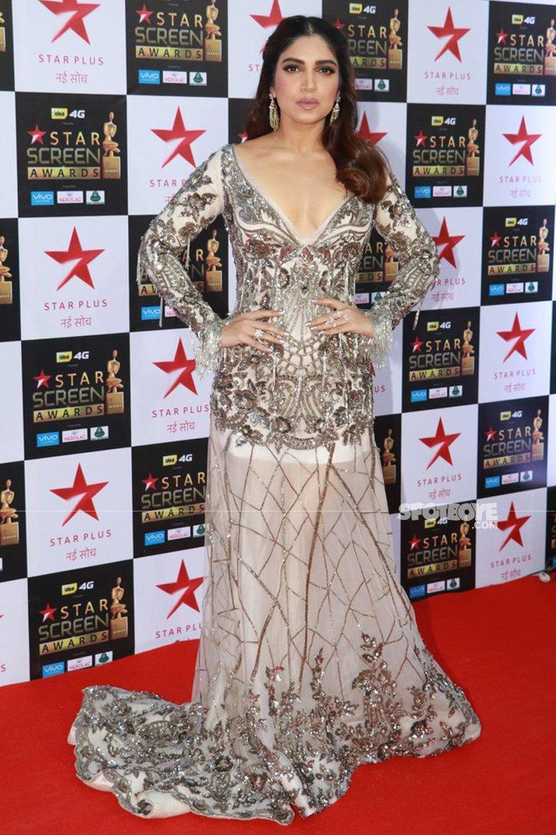 bhumi pednekar at star screen awards