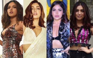 Bhumi Pednekar Is Spreading Some Shimmer Love Through Her Sexy Outfits And We're Totally Digging Her Wardrobe