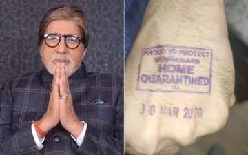 Coronavirus Scare: Amitabh Bachchan's 'Self-Quarantined Stamp Hand' Picture Is NOT His Own Hand - Here's Why