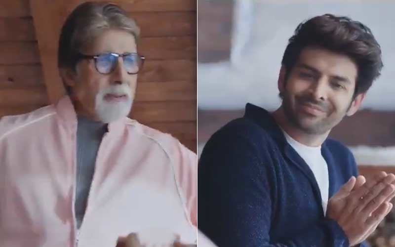 Amitabh Bachchan Scolds Kartik Aaryan; Actor Calls Him, 'Coolest Bachchan' In Return – WATCH VIDEO