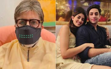 Amitabh Bachchan's Unique Masked Republic Day Wish Has Left His Grand Children Navya And Agastya In Splits – Watch Hilarious Video Inside