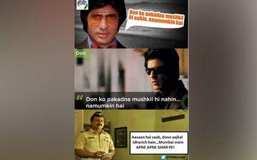 Coronavirus Lockdown: PIB Uses Amitabh Bachchan-Shah Rukh Khan's Iconic '11 Mulkon Ki Police' Dialogue To Deliver #StayingHome Message