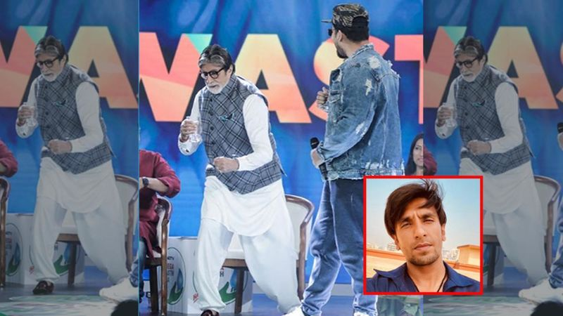 Bahut Hard Scene: Amitabh Bachchan Dances To The Tunes Of Rapper Naezy, Gully Boy Ranveer Singh Approves
