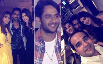 THAT'S HOW WE PARTY: Shilpa Shinde, Vikas Gupta, Bandgi Kalra, Puneesh Sharma Let Their Hair Down