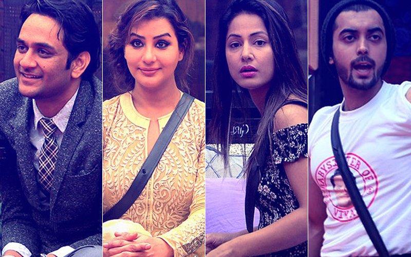Bigg Boss 11: Vikas Gupta, Shilpa Shinde, Hina Khan & Luv Tyagi Go OUT Of The House!