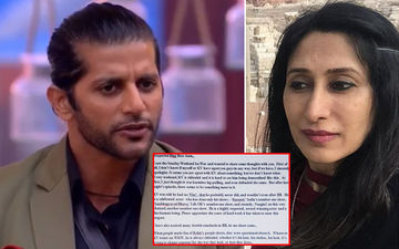 Bigg Boss 12: Karanvir Bohra Apologises For Wife Teejay Sidhu's Open Letter Slamming The Makers