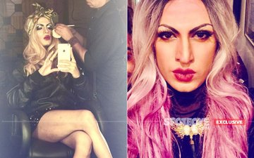 IN PICS: Bigg Boss 8 Contestant & Mr Gay India Sushant Divgikr DRAGS It - And How