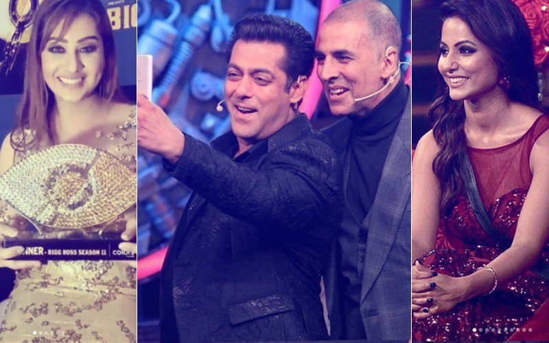 Bigg Boss 11: GRAND FINALE In Pictures