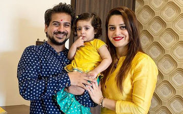 Bigg Boss Marathi Fame Pushkar Jog's Wife Jasmine Celebrates A Cute And Humble Birthday With Hubby And Daughter