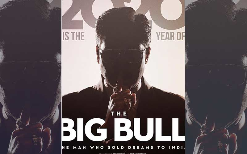 The Big Bull Poster: Abhishek Bachchan Unveils His First Look And It's Intriguing