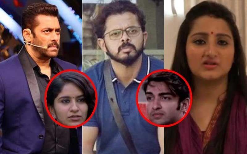 Bigg Boss 12: श्रीसंत ने किया अपनी पत्नी को अपसेट, सलमान खान ने लगाई सुरभि राणा और रोहित सुचंती की क्लास