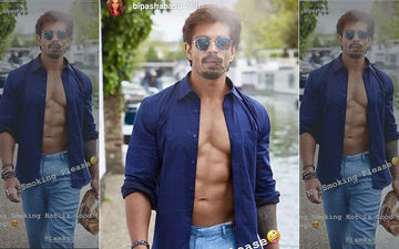 Karan Singh Grover Poses With A Cigarette, Wife Bipasha Hates It!