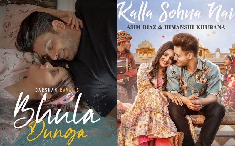 Kalla Sohna Nai Vs Bhula Dunga: Sidharth-Shehnaaz's Song Tops The Chart While Asim Riaz-Himanshi Khurana's Kalla Sohna Nai Lags Behind