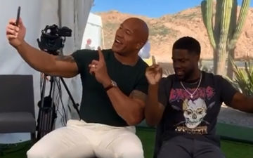 Black Adam: Kevin Hart Confident That Dwayne The Rock Johnson Will Find A Role For Him In His Superhero Movie