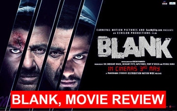 Blank, Movie Review: Dimple Kapadia's Nephew Karan Kapadia's First Splash Not Blank