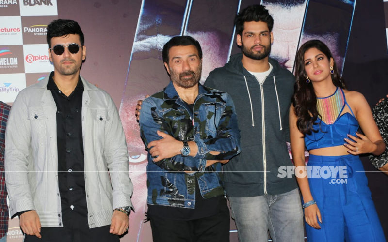 Blank Trailer Launch: Sunny Deol, Karan Kapadia, Ishita Dutta Unveil The Hard-Hitting Story On Terrorism
