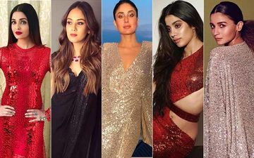 Mira Rajput, Aishwarya Rai Bachchan, Janhvi Kapoor And Kareena Kapoor Khan Show Us How To Rock A Sparkly Dress