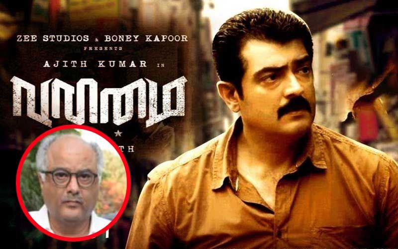 Valimai: Boney Kapoor Gives An Update On Ajith Kumar Starrer; Reveals Working On 'Presenting The First Look' Of The Film