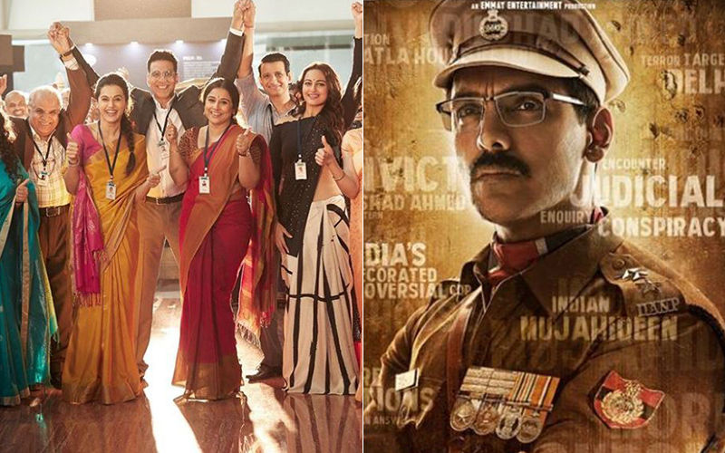 Mission Mangal And Batla House Box-Office Collections Day 6: Akshay Kumar's Film Maintains A Strong Run As John Abraham Starrer Crosses 50 Cr
