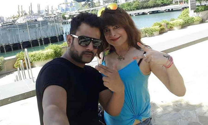bobby darling with ramneek sharma