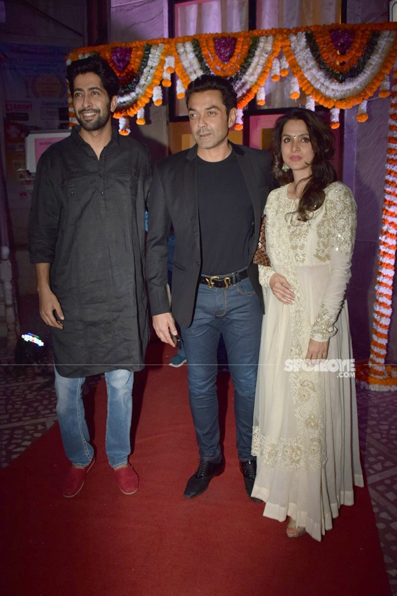 bobby deol  at vatsal seth and ishita dutta wedding ceremony at iskon temple