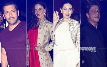 Diwali Dhamaka! Bollywood Stars Party It Up With Salman Khan And Family