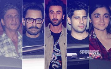 Ranbir Kapoor's Birthday Bash: Shah Rukh Khan, Aamir Khan, Alia Bhatt, Sidharth Malhotra Party All Night