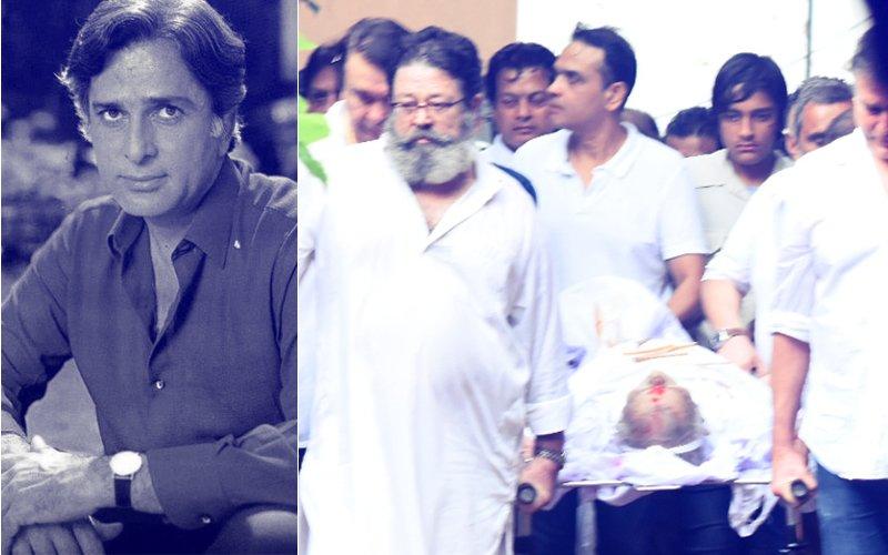 FUNERAL VIDEO: Bollywood Bids FINAL GOODBYE To Shashi Kapoor