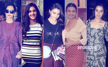 STUNNER OR BUMMER: Sonam Kapoor, Amyra Dastur, Jacqueline Fernandez, Radhika Apte Or Shraddha Kapoor?