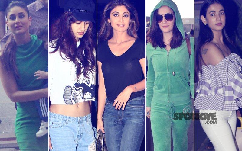STUNNER OR BUMMER: Kareena Kapoor, Disha Patani, Shilpa Shetty, Elli AvrRam Or Sonal Chauhan?