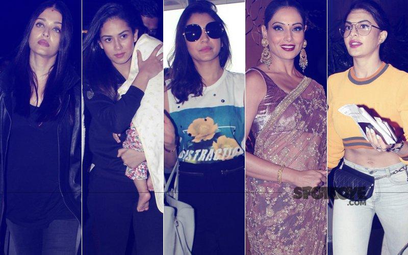 STUNNER OR BUMMER: Aishwarya Rai Bachchan, Mira Rajput, Anushka Sharma, Bipasha Basu Or Jacqueline Fernandez?