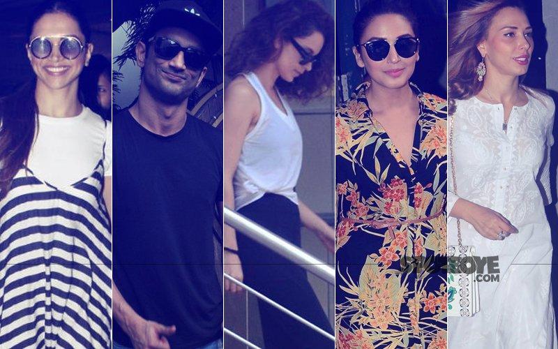 STUNNER OR BUMMER: Deepika Padukone, Sushant Singh Rajput, Kangana Ranaut, Huma Qureshi Or Iulia Vantur?