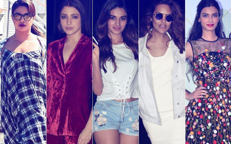 STUNNER OR BUMMER: Priyanka Chopra, Anushka Sharma, Nidhhi Agerwal, Esha Gupta Or Diana Penty?