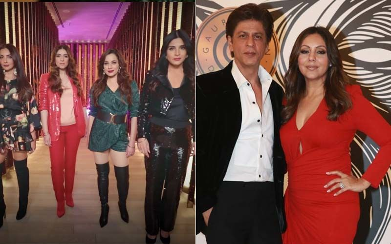 Shah Rukh Khan's Wife Gauri Khan Is 'Gate Crashing' Fabulous Lives Of Bollywood Wives Season 2; We Can't Wait For More Glitz And Glam