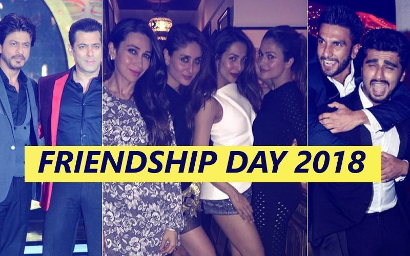 Friendship Day 2018: मिलिए बॉलीवुड के बेस्ट फ्रेंड्स से जिनकी दोस्ती की मिसाल दी जाती है