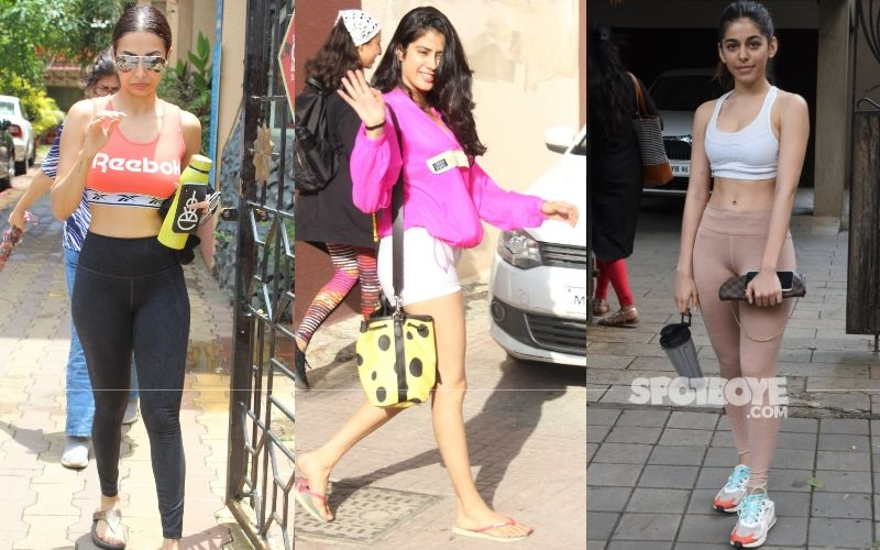 Malaika Arora, Janhvi Kapoor, Alaia Eff Sweat It Out In Style; Their Gym Game Is On Point And These Pics Are Proof