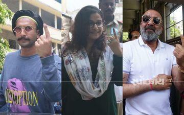 Lok Sabha Election 2019: विद्या बालन, रणवीर सिंह, संजय दत्त, समेत कई बॉलीवुड सितारों ने किया मतदान