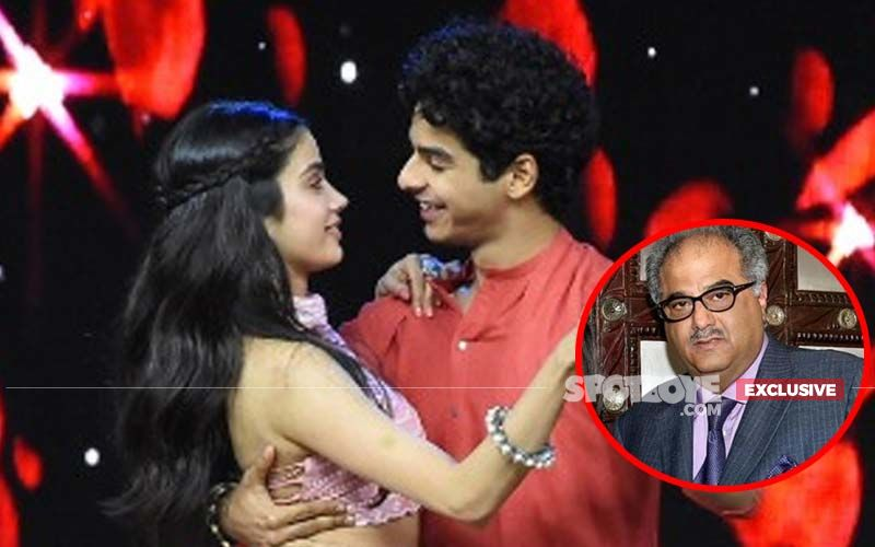 Boney Kapoor Finally Speaks Out On Janhvi's Link-Up With Ishaan Khatter