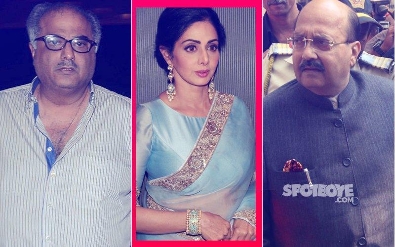 Boney Kapoor's MIDNIGHT CALL To Amar Singh: Bhabhi Is No More...
