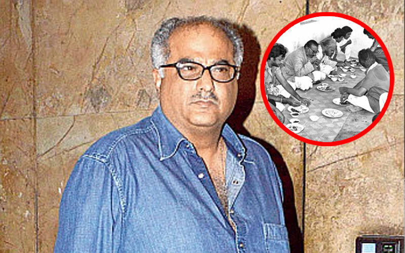 When Boney Kapoor Played Perfect Host And Served Food To Sanjeev Kumar, Mithun Chakraborty, Raj Babbar - Unseen Pictures