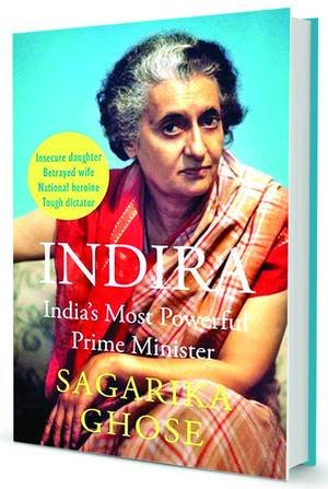 Sagarika Ghose Book On Indira Gandhi
