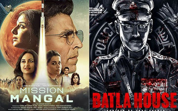 Mission Mangal And Batla House Box-Office Collections, Day 11: Akshay Kumar's Film Maintains Sturdy Foothold; John Abraham Starrer Is Going Strong