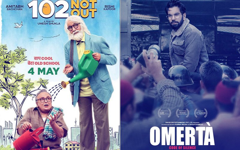 102 Not Out & Omerta Box-Office Collection, Day 1: Films Get A Slow Start But Likely To Pick Up