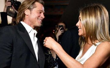 Jennifer Anniston Finally Reacts To Ex Brad Pitt's Teary-Eyed Reaction To Her Winning Speech At SAG Awards 2020