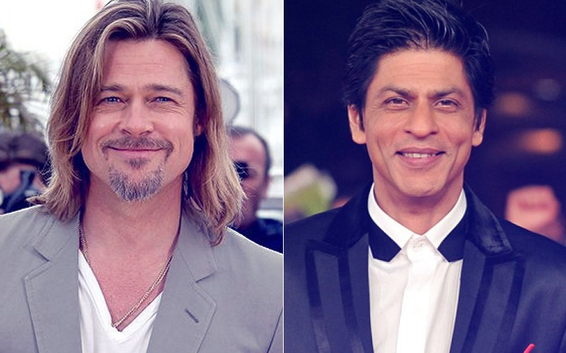 Brad Pitt Is In Mumbai And Hanging Out With Shah Rukh Khan!
