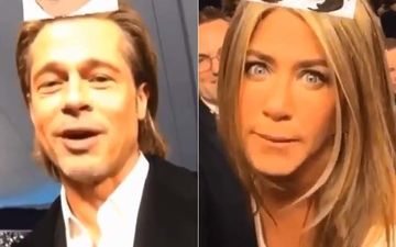 Jennifer Aniston And Brad Pitt Took The Which FRIENDS Character Are You Test And Both Look Amused- VIRAL VIDEO