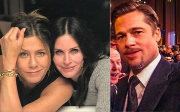 Is FRIENDS Star Courteney Cox Trying To Get Jennifer Aniston-Brad Pitt Together After Their SAG Reunion?