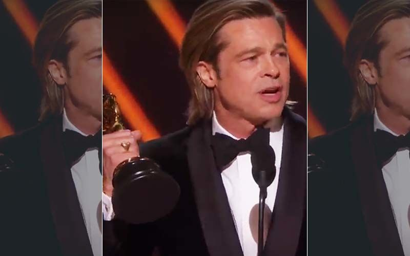 Donald Trump's Son Eric SLAMS Brad Pitt As 'Smug Elitist', Blames His Political Oscars Speech For Low Ratings