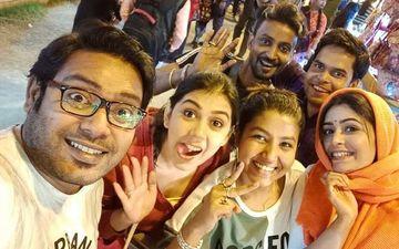 Brahma Janen Gopon Kommoti: Ritabhari Charaborty Having Fun At The Shooting, See Pictures